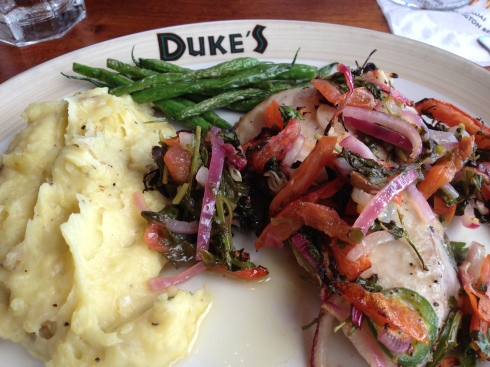 Duke's fabulous fish dish!